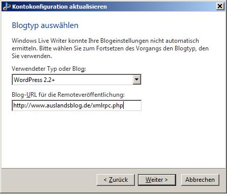 Windows Live Anmeldung