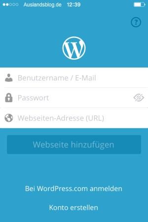 Wordpress Einstellungen