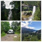 Shannon Falls und Brandywine Falls