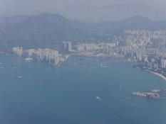 Hong Kong beim Start des Fliegers