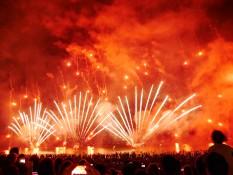 Feuerwerk in Darwin
