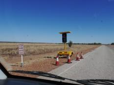 Bauarbeiten im Outback