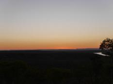 Sonnenuntergang über dem Victoria River