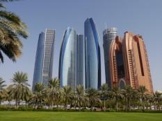 Etihad-Towers (mein Hotel ist da auch drin)