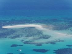 kleine Sandinsel