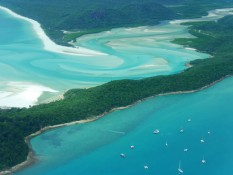 am Whitehaven Beach (Hill Inlet)