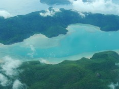 die Whitsunday Inseln