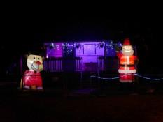 Polizeistation-Weihnachts-Deko