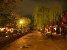Straßen Kyotos