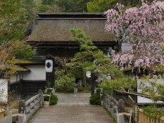 Eingang zu einem Tempel