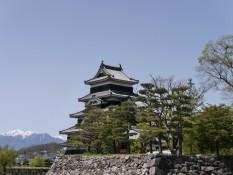 Burg mit Berg