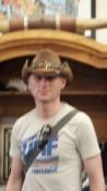 Cowboy Nico - Leider etwas unscharf