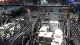 Antriebsräder der Cable Cars