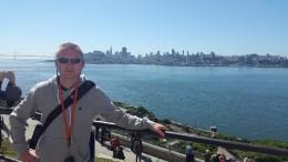 Skyline von SF von Alcatraz aus