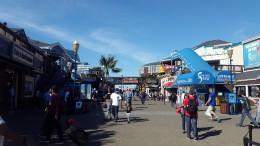 Pier 39 am Fishermen's Wharf