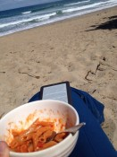 lunch at the beach :)