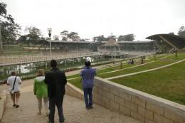 Einmal jährlich findet hier ein Gottesdients mit Besuchern aus aller Welt statt.