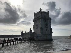 Belem-Turm bewacht die Hafeneinfahrt