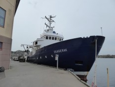 Ship for our first Exkursion