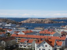 Blick vom Hügel in Lysekil - View from the hill in Lysekil