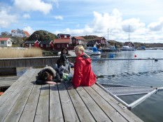 Pause in Grundsund - Break in Grundsund
