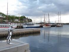 Castle and harbour - Festung und Hafen