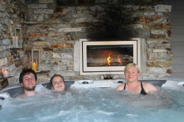 Our amazing Jacuzzi - Unser super Whirlpool