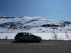 Cruising through the snow - Fahrt durch Schneelandschaft