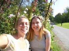 Marta und ich im Botanischen Garten - Marta and me in the Botanical Garden