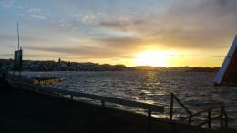 Sunset in Fiskebäckskil
