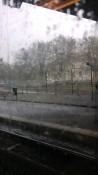 Hale-storm in Gothenburg