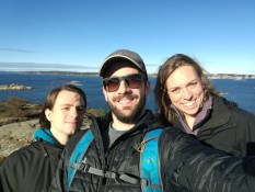 Sunday Walk with Dimitris, Mael and Carina