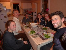 And the rest of the family of course - with a really good meal!