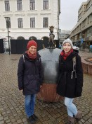 Ines and me in Malmö