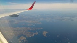 Flight back to Gothenburg