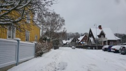 Winter-wonderland in Gothenburg