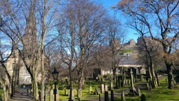 Edinburgh Cemetery and Castle