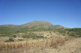 Und so sieht er aus, der höchste Berg der Umgebung...