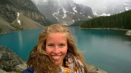 At the Lake Moraine!