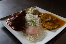 Picante Mixto/ Zunge&Huhn in scharfer Sauce