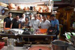 El equipo de cocina