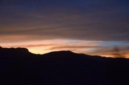 Sonnenuntergang auf dem Altiplano