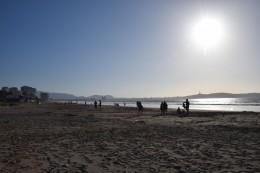 La playa de La Serena