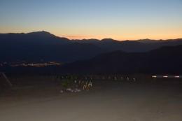 Das Tal nachts