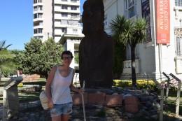 Statur der Osterinsel - Moai