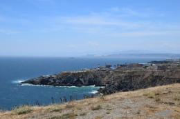 Valpos Steilküste