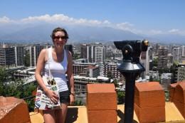Aussicht vom Cerro Santa Lucía