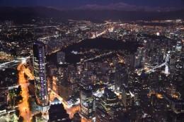 Santiago en la noche
