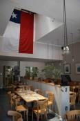 Das Restaurant von innen