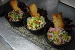 Triología de Ceviche